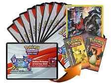 x10 Various XY Pokemon TCG OnLine Code Karten + 1 Darkrai Generations Code