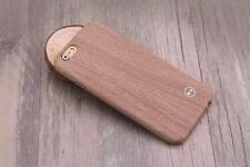 New Premium PU Leather Ultra-thin Wooden Soft Case Cover For iPhone 6/6S - BROWN