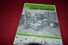 Massey Ferguson 88 Crop Forage Blower Dealer's Brochure DCPA