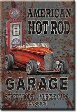 American Hot Rod Garage fridge magnet   (de)