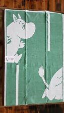 "100% Organic Cotton Moomin Goes gron (Green) Baby Blanket 28"" x 41"" by Ekelund"