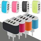 3.1A Wall Charging Adapter For Samsung iPhone HTC Nokia LG 3 USB Port EU/US Plug
