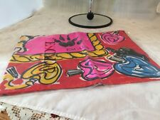 """Vintage ESCADA Scarf News from The Tiger All Silk Made In Italy 34"""" Square NEW"""