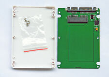 "1.8"" micro sata SSD HDD to 2.5"" sata adapter card with case 7mm thickness"