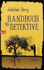 Handbuch für Detektive Jed.Berry  Taschenbuch ++Ungelesenes  Mängelexemplar++