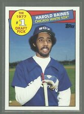 2016 Topps Archives Harold Baines 1977 #1 Draft Pick Insert Card # 85DP-HB Sox