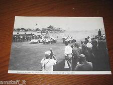 (163)=G.P. F.1 D'ITALIA 1954 PARTENZA FANGIO MERCEDES=RITAGLIO=CLIPPING=FOTO=