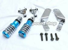 Ruckus Scooter NPS 50 Rear Foot Peg With Mount Set Blue