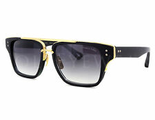 NEW Dita Mach-Three DRX 2059A Black Gold Blue Sunglasses