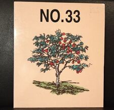 Embroidery Designs Card 33 Trees Leaves Forests For Babylock  Deco Brother White