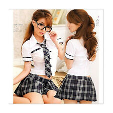 Sexy Lady Japan High School Students Uniform Wear Women Roll Play Fancy Dress