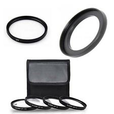 MACRO Close UP Lens Set + UV + Ring for Nikon Coolpix P510, P520, P530, Camera
