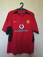 Manchester United ENGLAND 2002/2003/2004 HOME FOOTBALL SHIRT JERSEY MAGLIA NIKE