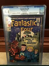 FANTASTIC FOUR #45 CGC 4.0 VG 1ST APP OF LOCKJAW THE INHUMANS (ID 3370)