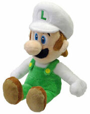 "NEW AUTHENTIC Super Mario Bros Series - 8"" Fire Luigi Stuffed Plush Toy Doll"