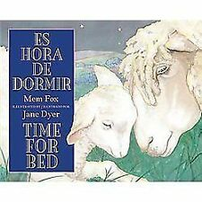 Es hora de dormir/Time for Bed Spanish and English Edition)