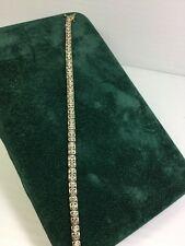 10kt Diamond Tennis Bracelet (J70)