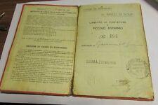 Libretto di risparmio Banco di Sicilia 1935