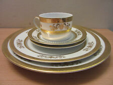 Philippe Deshoulieres Limoges France Orsay White 5pc Place Setting