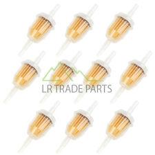En línea Filtro De Combustible X10 De Ajuste Universal De 6mm Y 8mm Pipe, filtros conjunto de 10