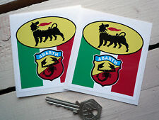 ABARTH AGIP style stickers Fiat 500 850 Panda 600