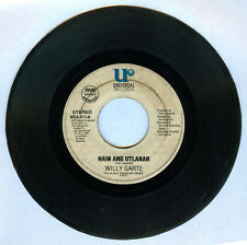 Philippines WILLY GARTE Hain Ang Utlanan OPM 45 rpm Record