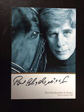 PAUL SCHOCKEMOHLE - LEGENDARY GERMAN SHOW JUMPER - SIGNED PROMO PHOTO