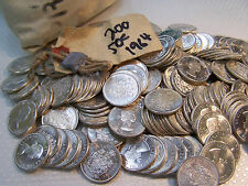 One Canada Silver 50 Cents 1964 from mint bag-- .800 fine *.3 oz of PURE Silver*
