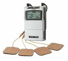 TENS 7000 Unit Digital Back Pain Muscle Joint Relief System w Electrode OTC Stim