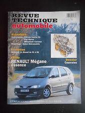 Revue technique automobile n°593 03/1997 Renault Megane essence