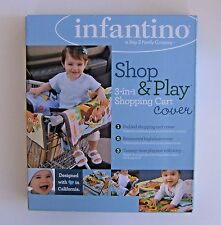Infantino Shop & Play Shopping Cart Cover Monkey Garden 3 In 1 Padded High Chair