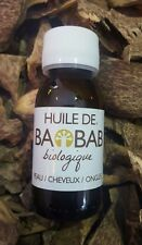 Baobab Oil 100% Organic Cold Pressed Unrefined African Baobab Seed Oil 60 ml