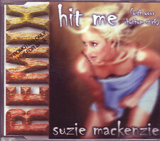 RARE Suzie Mackenzie Hit Me Australian CD single