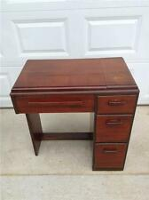 Singer Sewing Machine Cabinet. Deco Style. Mahogany. (SMC 117)