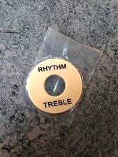 Ivory Les Paul Switch Toggle Treble Rhythm Selector Plate Cover USA SELLER DIY