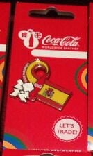 LONDON 2012 OLYMPICS COCA COLA SPAIN FLAG PIN BADGE RIO 2016