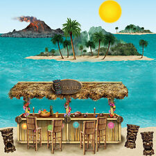 Hawaiian Tropical Party Scene Setter Add-on Decoration - Tiki Bar & Island Props