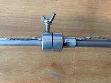 Thermometerdurchführung für Grillspieße Drehspieß bis 8mm Durchmesser