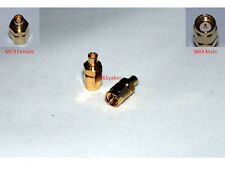 RF coaxial adapter MCX female to SMA male; US Stock ; Fast Shipping