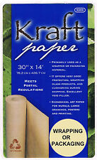 Kraft Paper Gift Wrap Wrapping Packaging Shipping Paper Roll All-Purpose Use