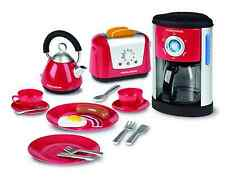 Casdon Little Cook Morphy Richards Kitchen Set Fillable Coffee Machine Kids Play