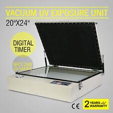 Vacuum UV Exposure Unit Screen Printing Machine All-Metal Digital Printer