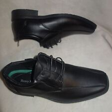 Henry Ferrera Faux Leather Lace-Up Dress Shoes sz 8.5 new
