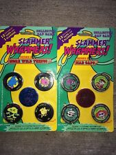 Pogs Slammer Whammers Series II 2 Factory Sealed Packs