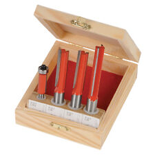 Silverline Kitchen Router Bit Set 4 pieces 12 & 8mm Routing Router Sets