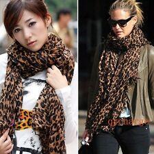 New Sexy Pashmina Celebrity Leopard Soft Shawl Scarf Fashion Lovely Gift B