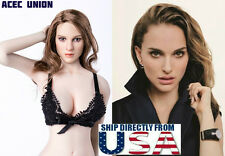 IN STOCK 1/6 Natalie Portman Head Sculpt KIMI KT008 For Hot Toys Phicen U.S.A.