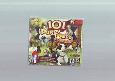 101 PUPPY PETS - KIDS VIRTUAL DOG DOGS SIM PC GAME - FAST POST - NEW & SEALED