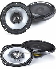 "KENWOOD KFC-1665S AND KFC-6965S PACKAGE CAR 6X9"" 6.5"" SPEAKERS 4 SPEAKERS"
