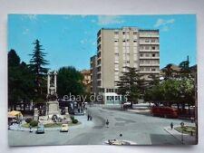 GALLARATE Piazza Autobus bus Vespa Piaggio Fiat 500 Varese vecchia cartolina